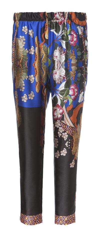 ORIENTAL PALAZZO PANTS from Zara