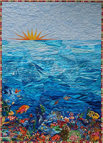182 Best Images About Ocean Water And Fish Quilts On