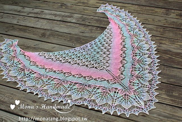 Ravelry: May Shawl pattern by Irena D free