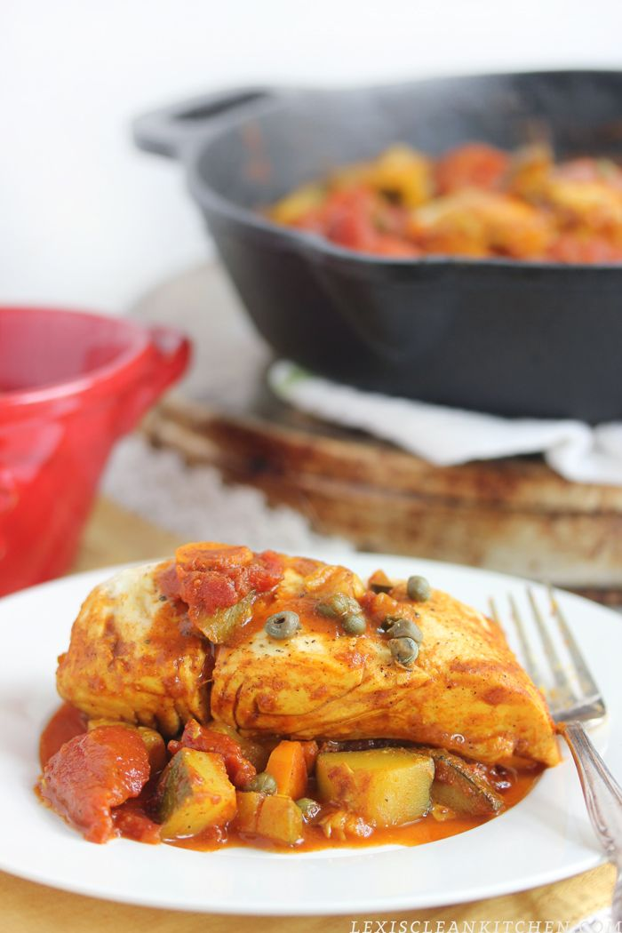 One Pan Moroccan Fish - Lexi's Clean Kitchen