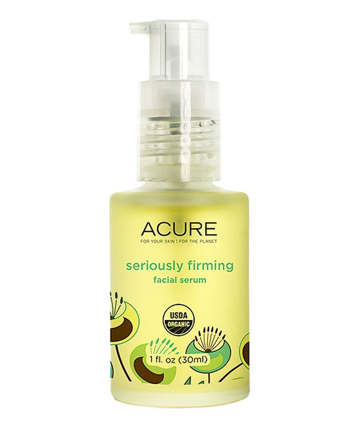Love This Seriously Firming Facial Serum By Acure Organics