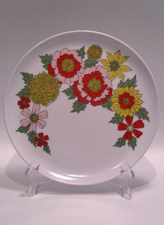 Single Assorted Melmac Melamine Dinner Ware by Lifeinmommatone, $4.00
