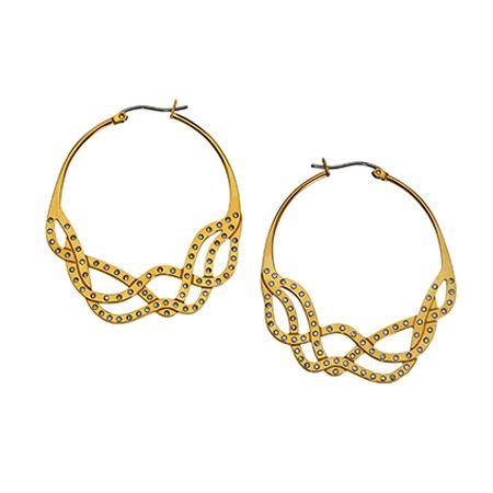 Swatch - Goldene Ohrringe #McArthurGlenStyle