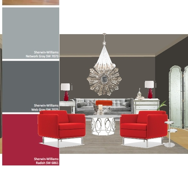 Hotel Chic Design Board By Concept Candie Interiors   Paint Color Is Sw7075  E  Part 39