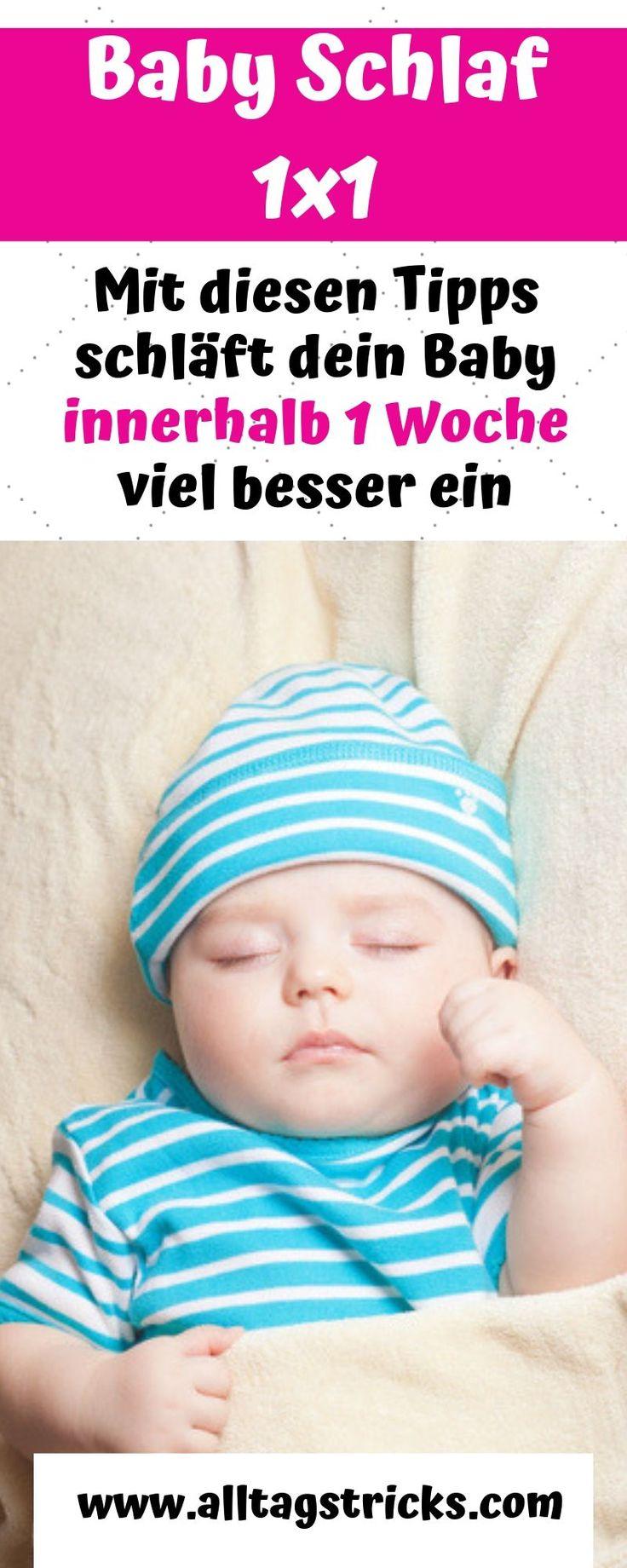 Die besten Einschlaf Tipps für Babys