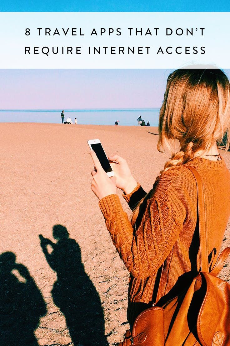 8 Travel Apps That Don't Require Internet Access via @PureWow