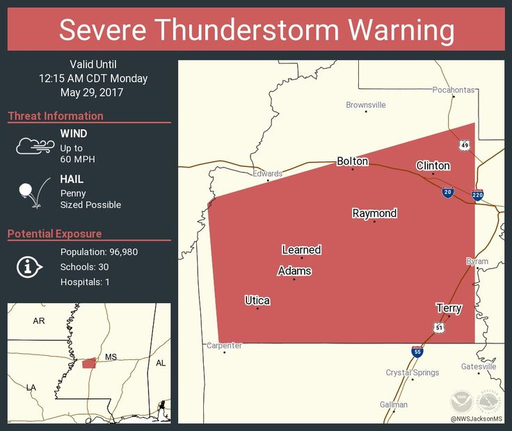 Severe Thunderstorm Warning including Clinton MS, Raymond MS, Terry MS until 12:15 AM CDTpic.twitter.com/XL4A3IPeVn - https://blog.clairepeetz.com/severe-thunderstorm-warning-including-clinton-ms-raymond-ms-terry-ms-until-1215-am-cdtpic-twitter-comxl4a3ipevn/
