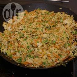 Gebratener Reis aus dem Wok mit Gemüse @ de.allrecipes.com