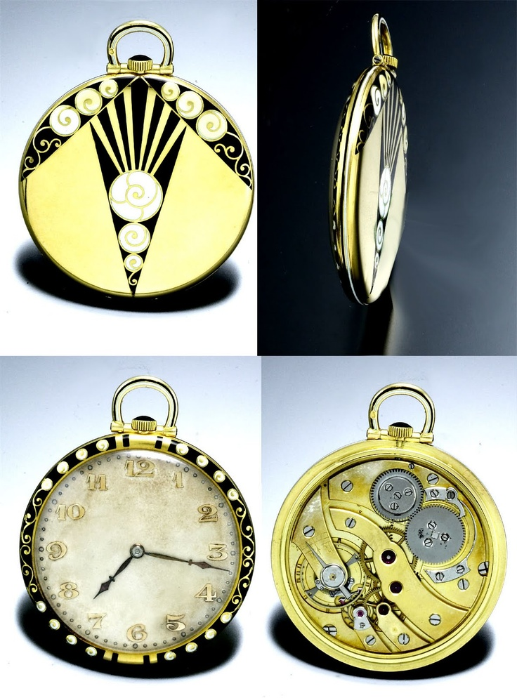 Art Deco Pocket Watch