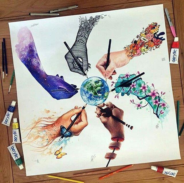 Artist: @elia_pelle #drawing #art #draw #sketch #p…