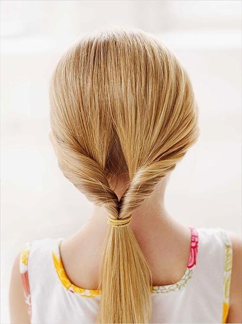 Simple ponytail ideas