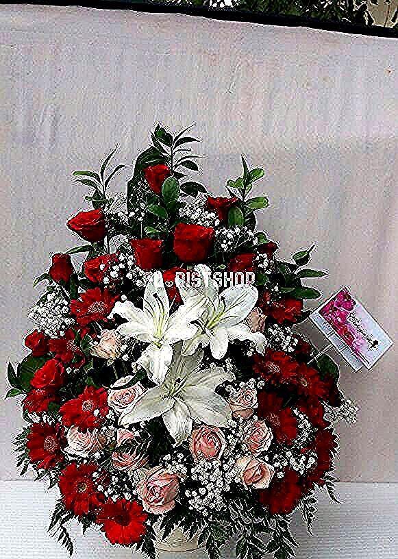 Gambar Bunga Mawar Merah Cantik Bunga Meja Mawar Merah Dan Lily Putih Cantik Tanaman Hias Bunga Mawar Merah Pohon B In 2020 Christmas Wreaths Holiday Decor Holiday