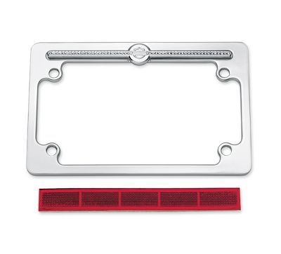 diamond ice license plate frame 60969 10