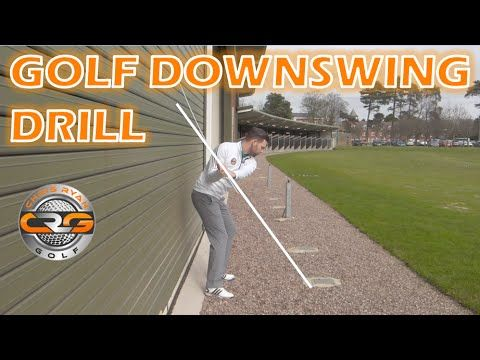 Many golfers are unaware of exactly how a good downswing motion should 'feel', this simple yet effective drill can give you those feels and help you hit bett...