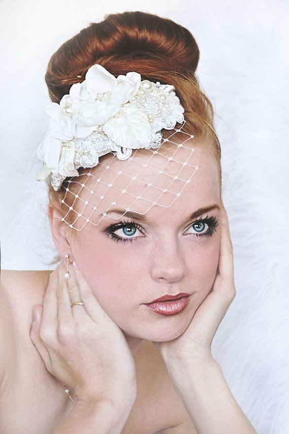 Beautiful hair accessories by SoBridelicious, www.sobridelicious.etsy.com