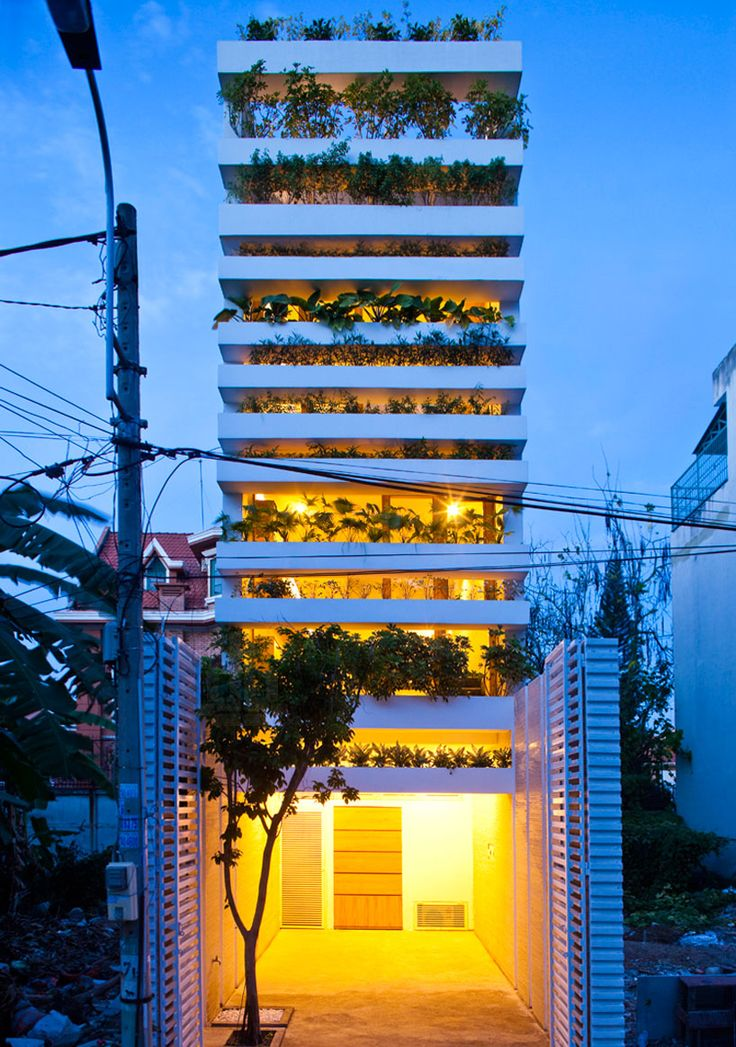 vo trong nghia architects layers plantation for stacking green