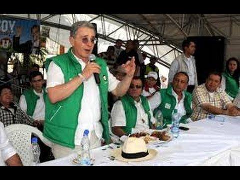 ALVARO URIBE; EL PROTECTOR DE LOS CORRUPTOS INVITA A MARCHAR CONTRA LA C...
