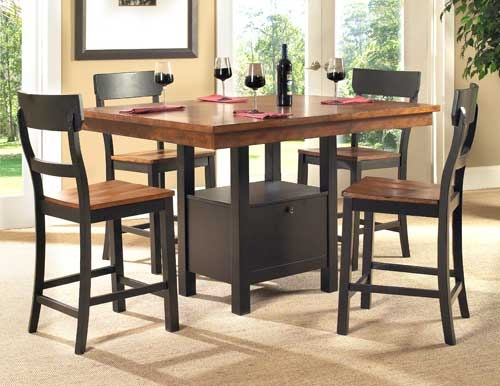 Pub Height Dinette Set On Sale 39999 Puritan Furniture CTs Largest
