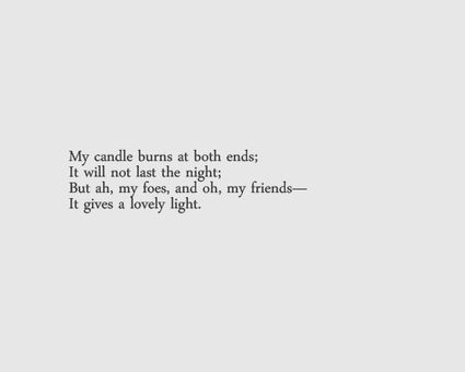 Short poems and quotes