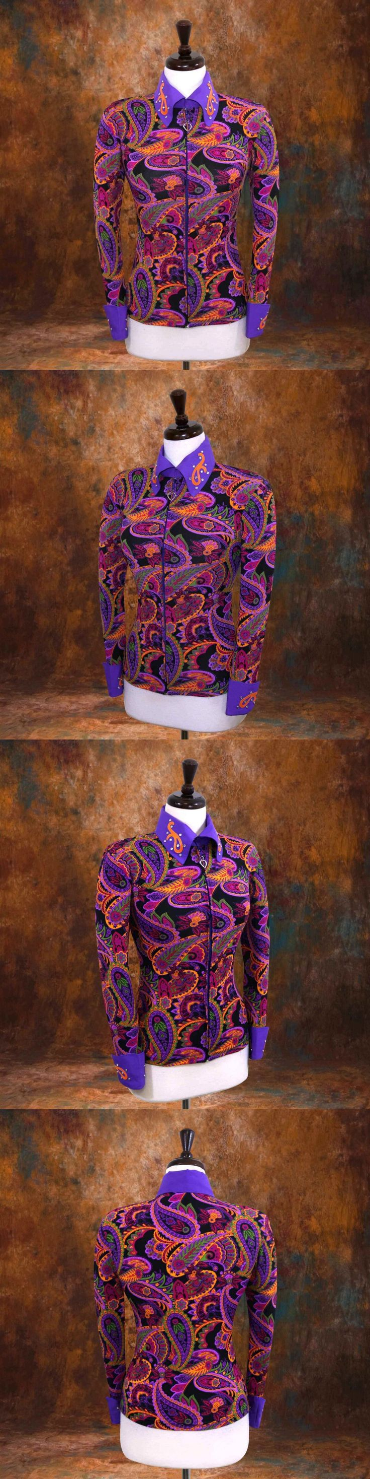Other Rider Clothing 3167: Large Showmanship Pleasure Horsemanship Show Jacket Shirt Rodeo Queen Rail -> BUY IT NOW ONLY: $74.98 on eBay!