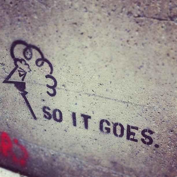 Slaughterhouse-Five – Kurt Vonnegut. | 28 Brilliant Works Of Literary Graffiti