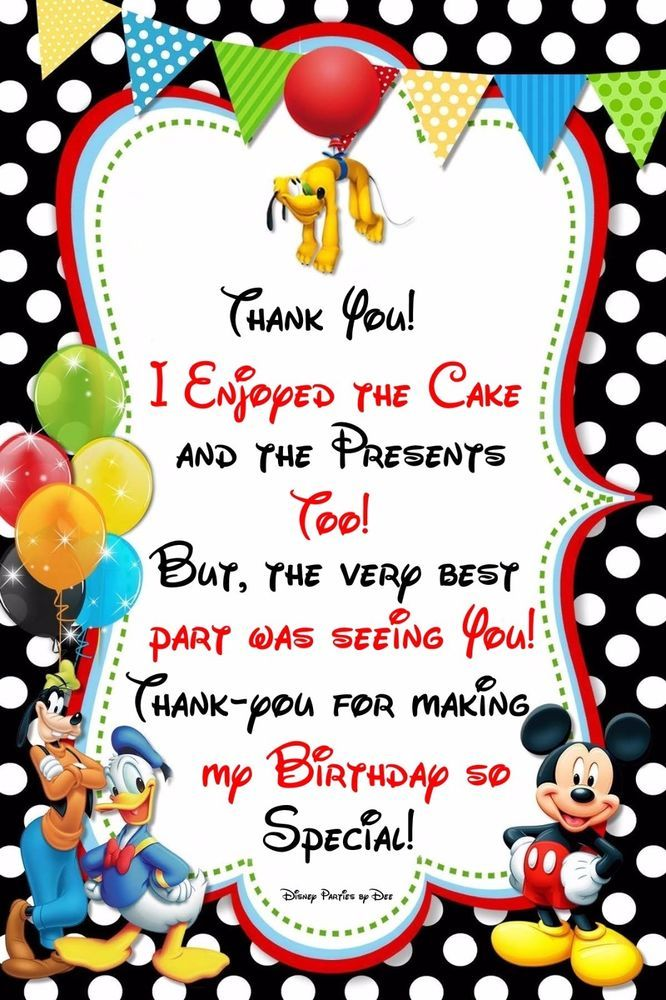 Disney Mickey Mouse Clubhouse Birthday Party Favor Tags(18) 2.25 x 3.25 Multi | Home & Garden, Greeting Cards & Party Supply, Party Supplies | eBay!