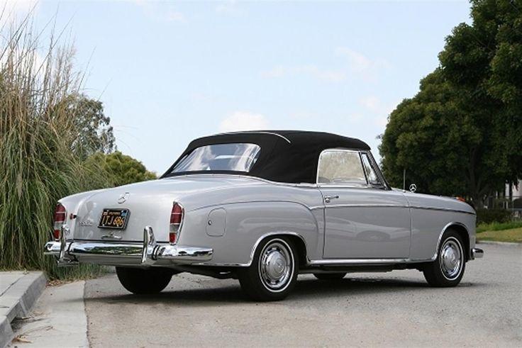 1960 Mercedes-Benz 220 SE Convertible by Classic Showcase no 2