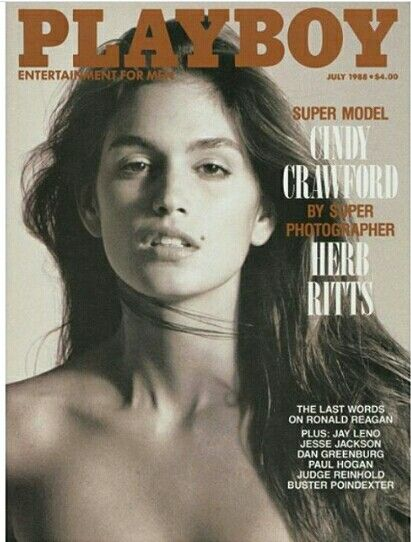 Cindy Crawford by Herb Ritts for Playboy July 1988