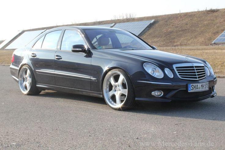 Mercedes E320 cdi: Man gönnt sich ja sonst nichts...!: 2006er W211 verschönt den wohlverdienten Feierabend