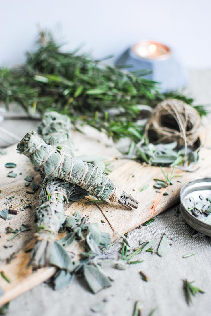 how to make your own sage bundles
