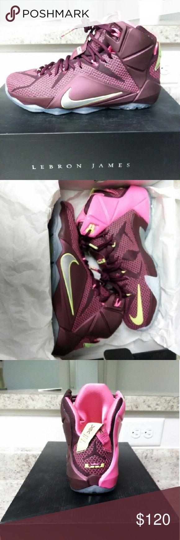 Nike lebron 12 Brand new, never worn Nike Shoes Sneakers