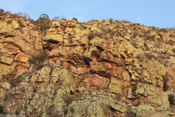 Cliff-face
