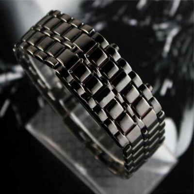 Светодиодные бинарные часы Самурай / Iron Samurai  http://ntsale.ru/catalog/muzhskiechasy/chasysamurai.html