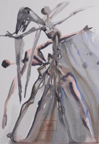 Salvador Dalí - degene die nalatig is geweest. Goddelijke komedie  Plaat ondertekendOriginele kleur houtsnede op B.F.K. Rives papier (een van de enige 386 bij de gegraveerde handtekening van blok)Grootte van het blad: 10 1/4 in de x 13 in - 26 x 33 cmEen zeer goede indruk van deze schaarse print.Ref: [Albert Field guide (blz 189-202) / Michler/Lopsinger (pagina's 102-114)]Wij bieden een C.O.A voor dit Dali op aanvraag.Originele houtsnede afgegeven voor de goddelijke komedie-Set uitgegeven…