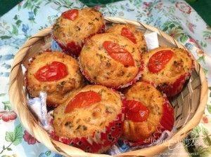 Ricetta muffin pizza - Le ricette de Le Meraviglie di Cicetta