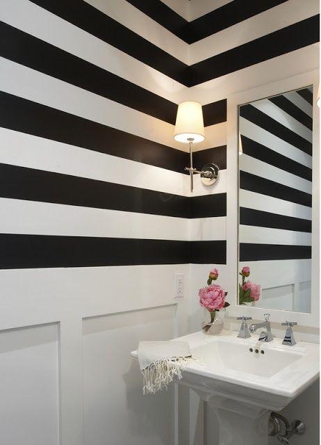 Łazienka W Paski Pomysły Na Stylowe łazienki Jak