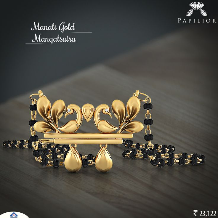 """""""It's always a good time to buy #jewellery but #AkshayaTritiya is the right time.""""     #mangalsutra #gold #goldmangalsutra #goldjewelry #moderngoldmangalsutra #shopping #workwearstyle #tanmaniyamangalsutra #longmangalsutra #mangalsutradesigns #mangalsutrapendant #fancygoldmangalsutra #22ktgoldmangalsutra #shortgoldmangalsutra"""