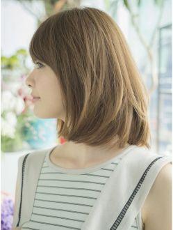ノラ ヘア サロン NORA HAIR SALON『大人可愛いストレートロブ☆』