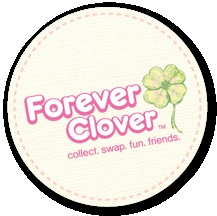 Forever Clover - swap cards for little girls