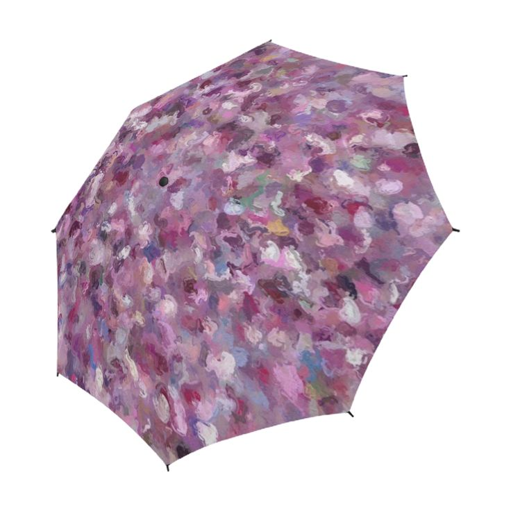 Autumn Leaves and Berries on a rainy day 9889 Umbrella by Khoncepts