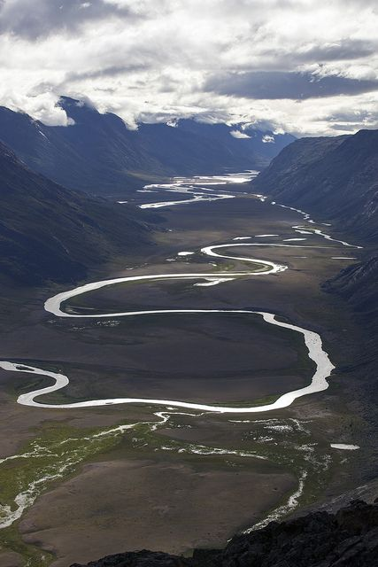 Elevated view of Paradise Valley, Greenland Photo by Dan Bach Kristensen.