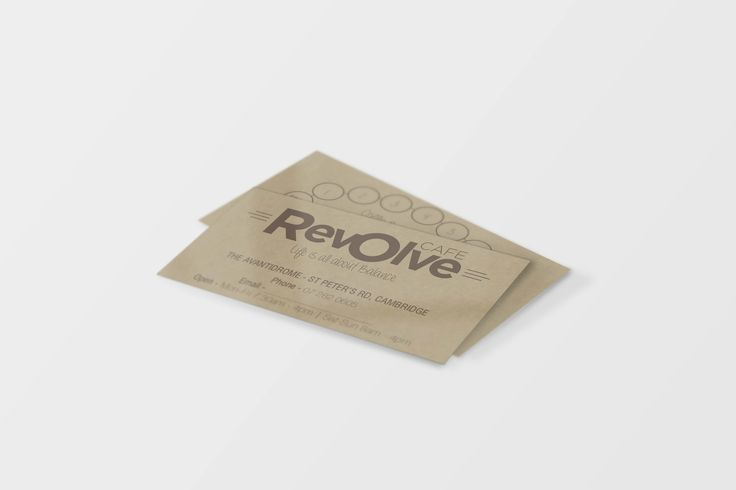Revolve Logo and Business Cards designed by Imagine If Creative Studios