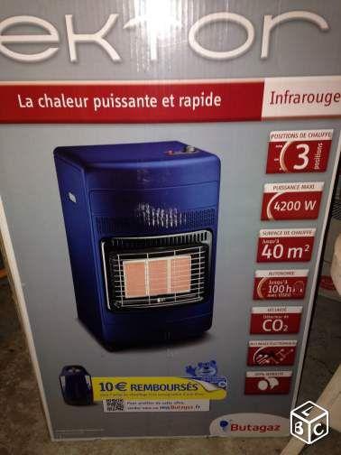 Chauffage d'appoint au gaz