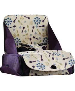 Munchkin Travel Child Booster Seat - Purple.