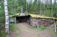 Metsästysseuran laavu heinäkuussa 2007 Kuva: Maaret Kaksonen