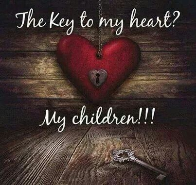 All parents should value their children in this way. Sadly, however, not all parents do, and some don't even have hearts... The key to their sick satisfaction is the destruction of their children.