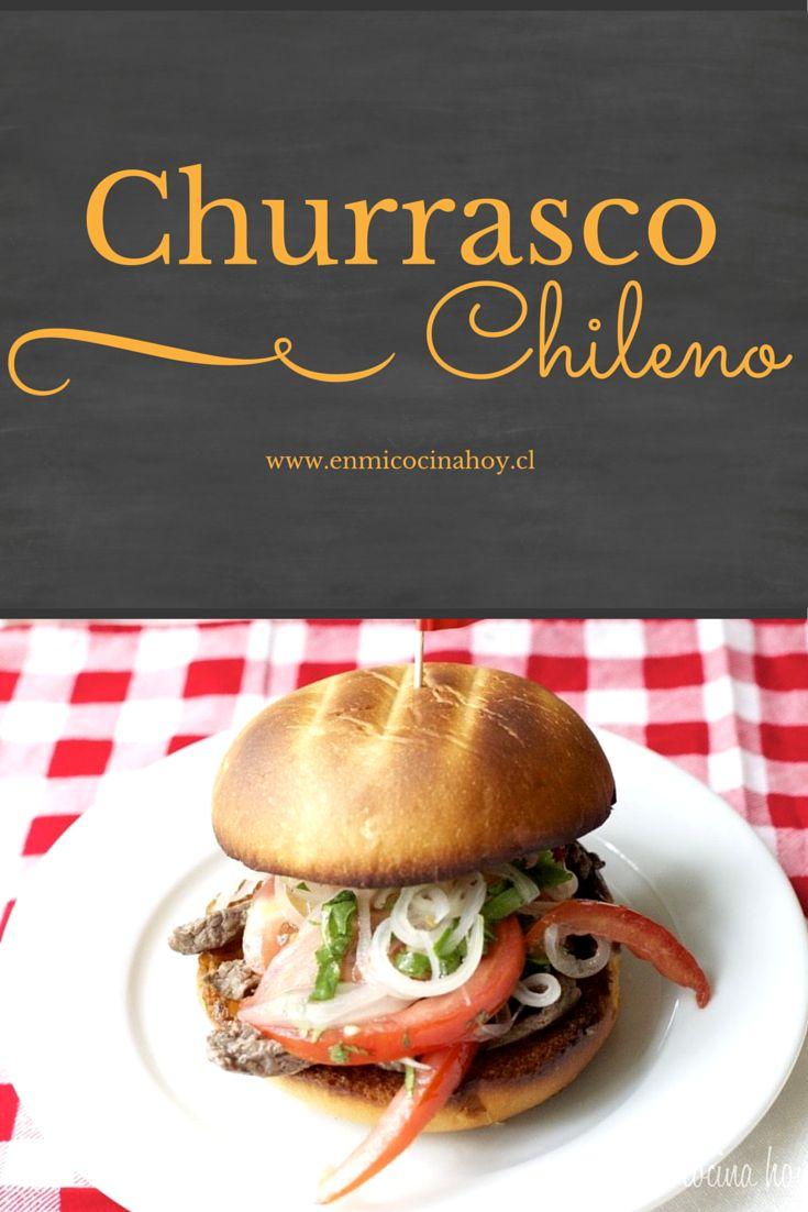 Uno de mis sandwich favoritos, el churrasco chileno es fresco y contundente.