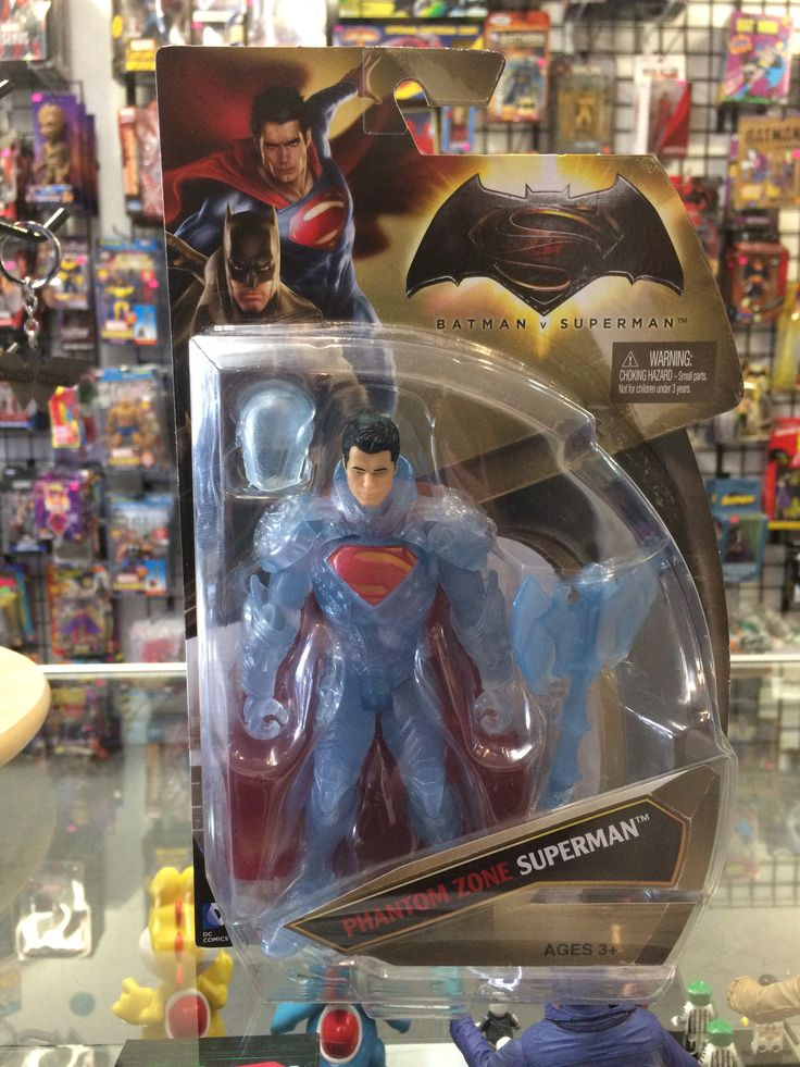 Batman vs Superman Phantom Zone Superman Mattel