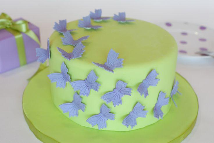 Kids Birthday Cakes New Jersey NJ: Butterfly Cake
