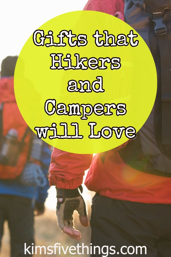 Gifts for Campers and Hikers – Outdoor Activity Gift Ideas {Budget Friendly} August 2019